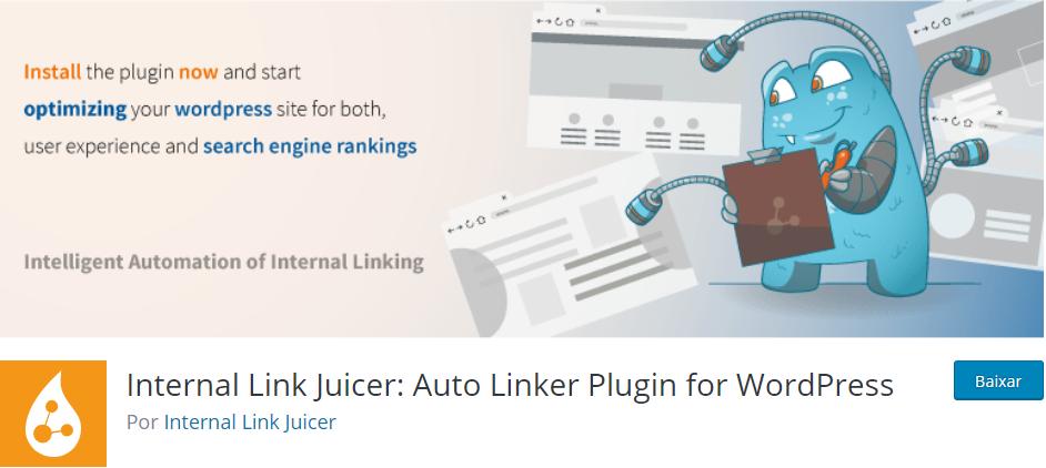 internal link juicer - Os Melhores Plugins WordPress Para o Seu Blog em 2020