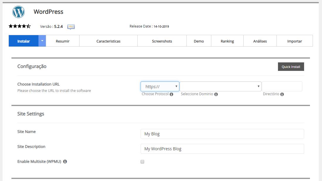 wordpress instalação - Como Criar Um Site: Passo a Passo Simples e Sem Contratar Especialista
