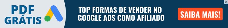 BANNER G ADS GRÁTIS - TOP Formas de Vender no Google ADS Como Afiliado