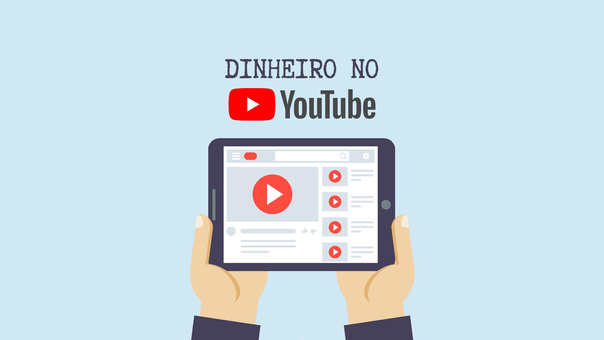 DINHEIRO NO YOUTUBE - Como Ganhar Dinheiro no YouTube Mesmo Com Poucos Inscritos (Guia Completo)