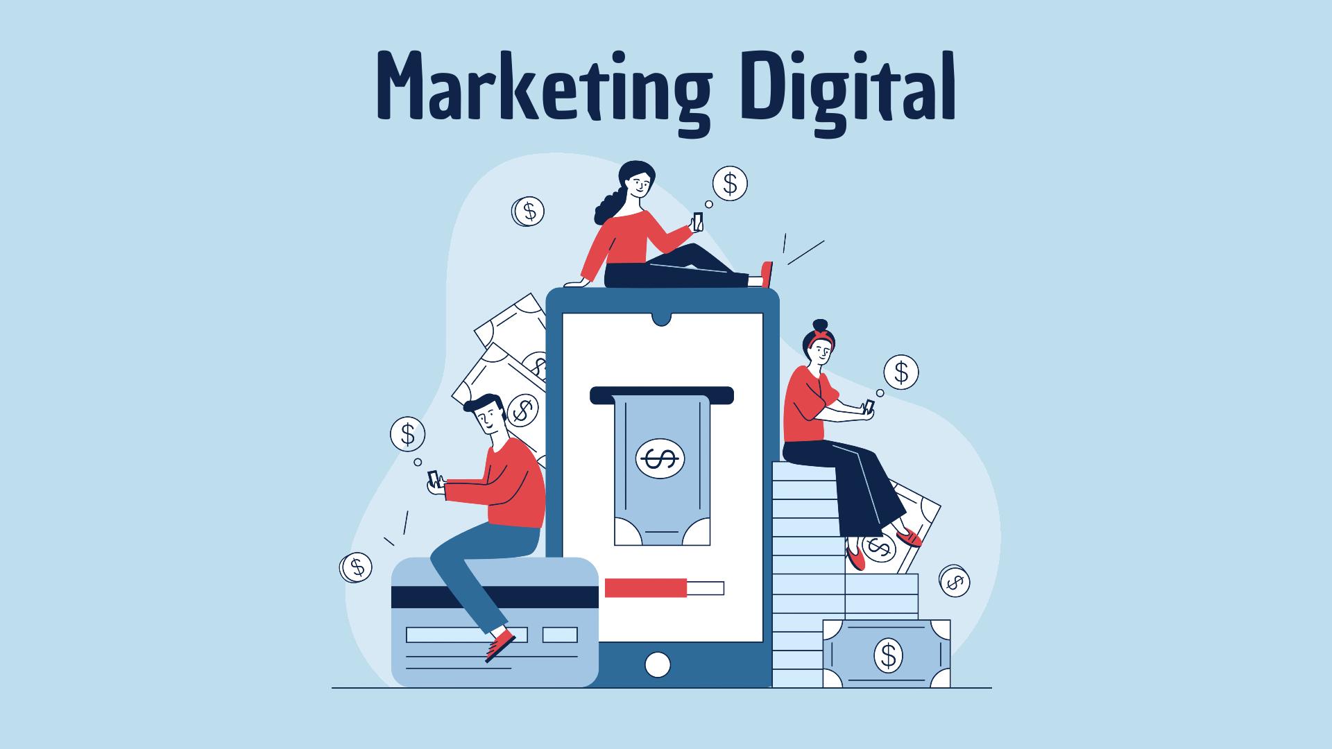 Marketing Digital - Como GANHAR DINHEIRO com Marketing Digital: 7 Formas INCRÍVEIS que REALMENTE Funcionam
